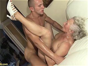 75 years senior grannie first-ever pornography movie