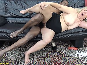 first time interracial plumb for 71 years
